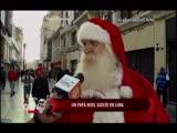 Nota - Un Papa Noel suelto en Lima