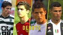 Cristiano Ronaldo Debuts for Sporting, Manchester United, Real Madrid, Juventus Portugal