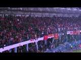 ЧЕРНОГОРИЯ - РОССИЯ ~ СРЫВ МАТЧА НА 67 минуте. Отборочный турнир Евро-2016. 27.03.2015