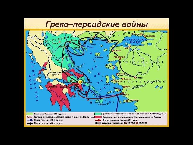Греко-персидские войны. 5 класс. История