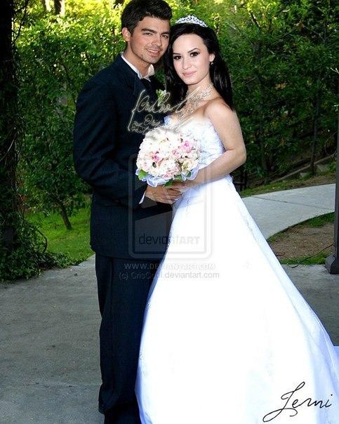 деми ловато и джо джонас свадьба фото