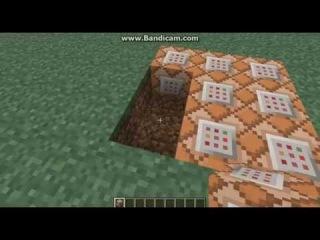 Как сделать батут в Майнкрафте!!! :D