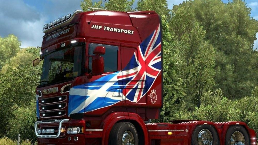 Скин JHP Transport для Scania RJL