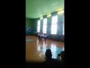 Выступление команды детского сада Рябинушка на Смотре строя и песни.