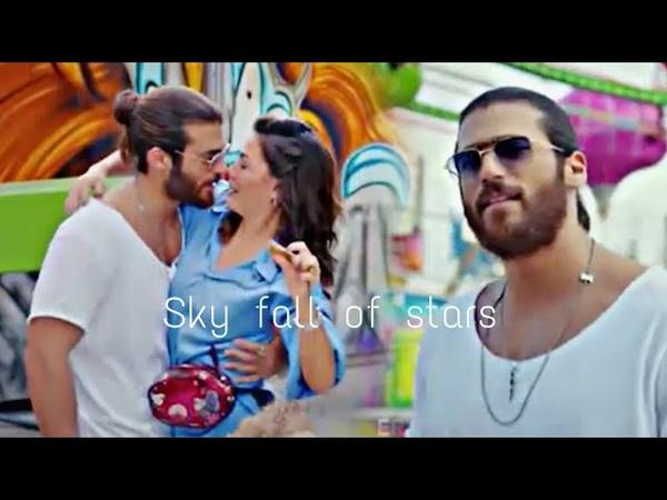 Couldplay Sky fall of stars (lyrics مترجمة) Can and Sanem | الطائر المبكر