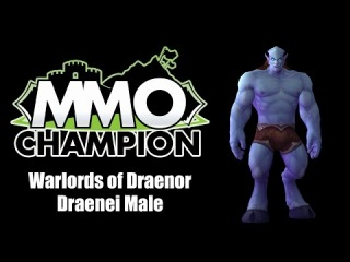 Warlords of Draenor - Draenei Male Character Model Preview