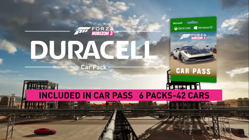 Трейлер Duracell Car Pack