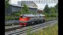 2М62У 0200 на станции Мытищи Северные Московской железной дороги.