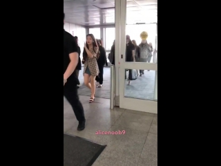 180624 Red Velvet  JFK Airport back to Korea