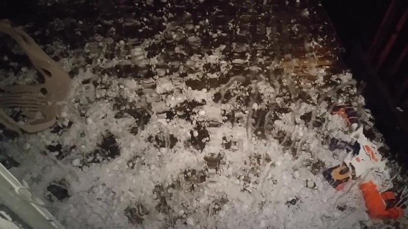 "Insane Hail Storm (Measured 2.5"" Hailstone) Pummels Fountain, Colorado Springs 6⁄13⁄18 (Unedited)"