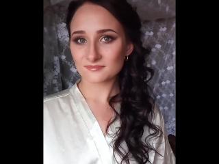 прическа и макияж от стилиста Елены Мерхель
