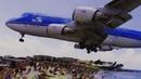 INSANE ‼️ Very LOW Landing Maho Beach Sint Maarten Saint Martin