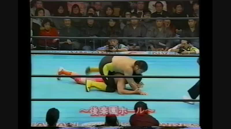 1994.02.19 - Kenta Kobashi/Satoru Asako vs. Toshiaki Kawada/Takao Omori [JIP]