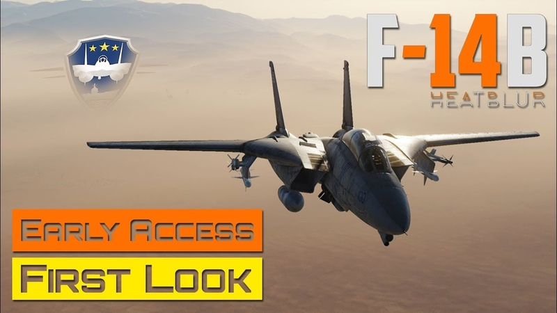 DCS World - Heatblur F-14 Tomcat - Early Access First Look