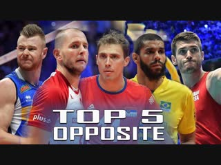 Top 5 opposite mens volleyball world championship 2018