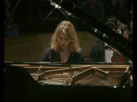 Gabriela Montero improvises on Rachmaninoffs third piano concerto in the style of Bach I