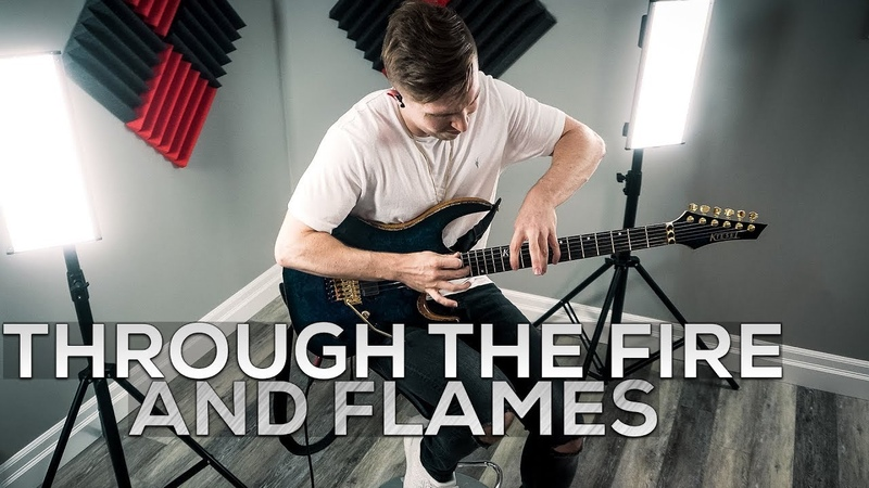DragonForce - Through The Fire And Flames - Cole Rolland (Guitar Cover)