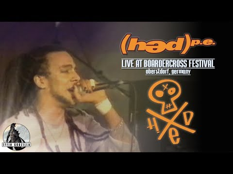 Hed p e Live at Boardercross Festival February 3 2001