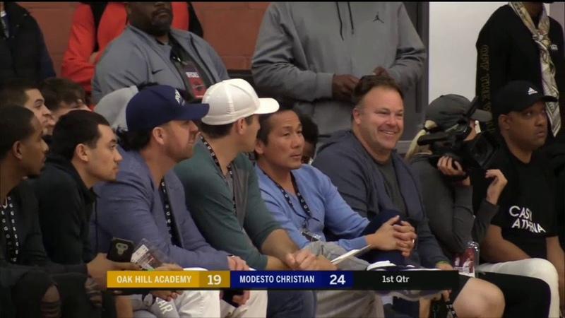 6 Oak Hills Academy Va vs Modesto High School Basketball