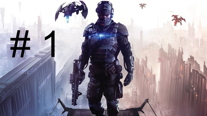 Прохождение Killzone: Shadow Fall (В плену сумрака) часть 1 (без комментариев) (PS4)