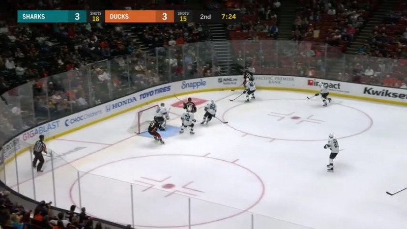 NHL 2018-19 Preseason game San Jose Sharks-Anaheim Ducks