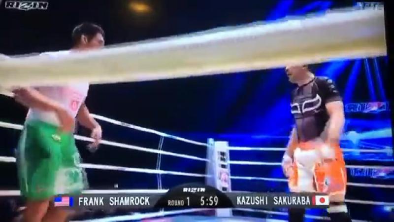 Казуши Сакураба Фрэнк Шемрок