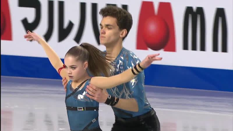 Polina Kostiukovich / Dmitrii Ialin | Pairs Short Program | Vancouver 2018