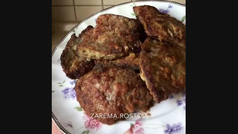 Вкусная печень в кляре - Личный повар (Рецепт под видео в описании)