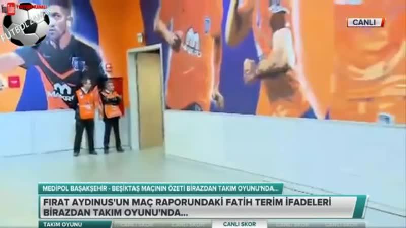 Başakşehir 1-0 Beşiktaş Erman Toroğlu Takım Oyunu 2.Kısım