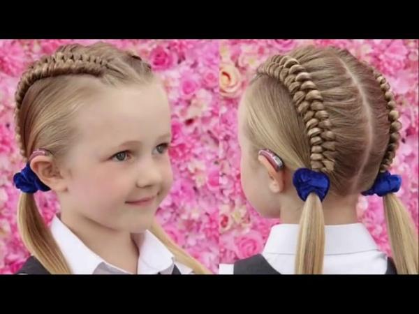 Çocuklar için örgü modelleri (TOP Best Braid Hairstyles for Girls) ☮