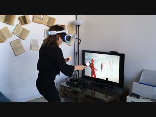 Playstation VR SuperHot в Антикафе Баклажан 🍆