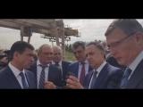 Виталий Мутко в Омске осмотр станции метро на ул.Конева