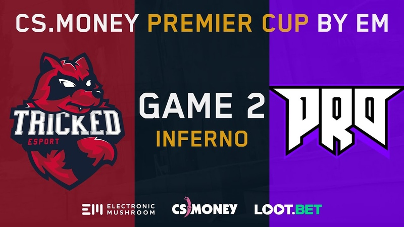 Tricked vs pro100 [Inferno] Map 2 - LB Ro4 - CS.MONEY PREMIER CUP BY EM