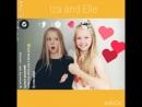 Iza and Elle foto