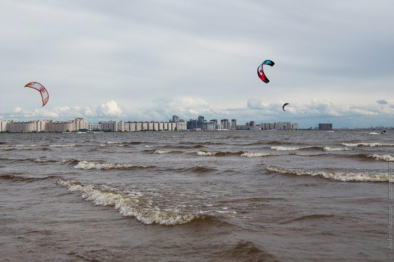 Фестиваль кайтсерфинга в Санкт-Петербурге