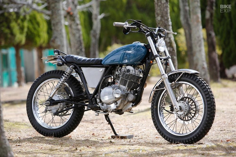 Heiwa Motorcycles: скрэмблер Suzuki ST250