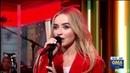 Sabrina Carpenter Almost Love Good Morning America GMA LIVE Performance August 20