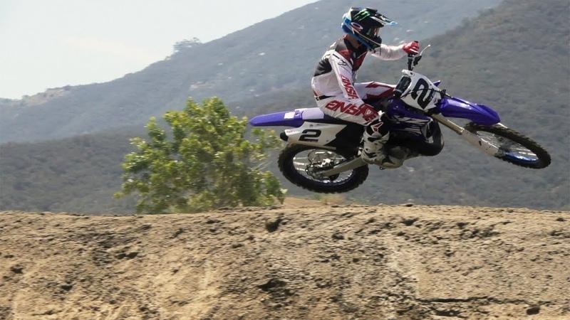 Ryan Villopoto shreds a YZ125 YZ250 RAW