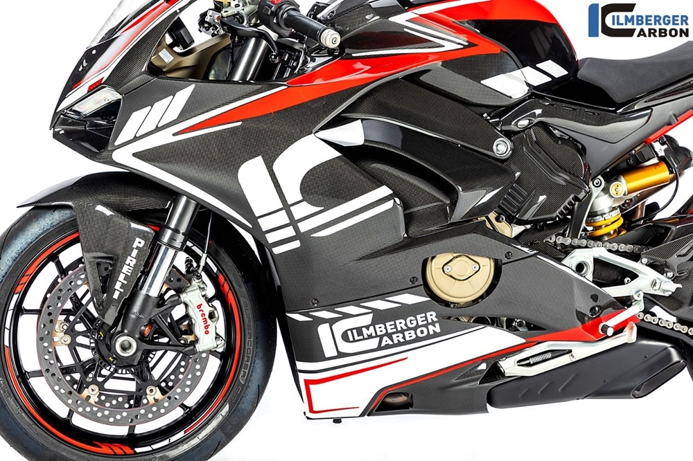 Ilmberger Carbon для Ducati Panigale V4: Race, Street Gloss и Street Matte