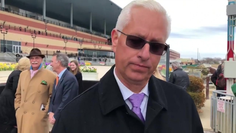 Trainer Todd Pletcher says MetMile on the radar for ARMY MULE after scintillating Carter win today!