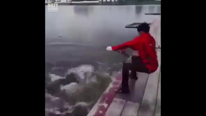 Крупного всем улова