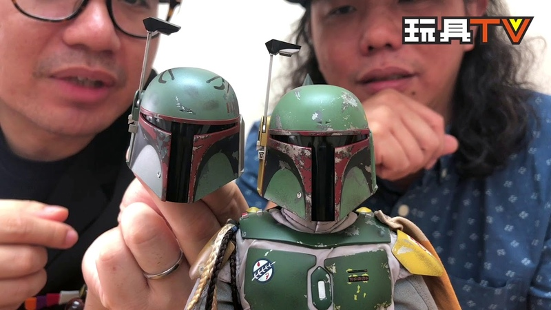 TOYSTV S6 EP10 P9「爆玩具」Hot Toys Star Wars The Empire Strikes Back Boba Fett Deluxe Version