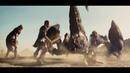 Персей и его команда бьются с скорпионами Битва титанов