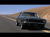 Детектив Буллитт (1968) гонка,Ford Mustang vs. Dodge Charger