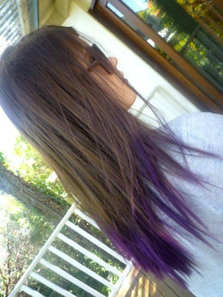 That's It I'm Getting Purple Tips