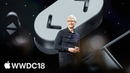WWDC 2018 Keynote Apple Genius 21st century in world science Steve Jobs