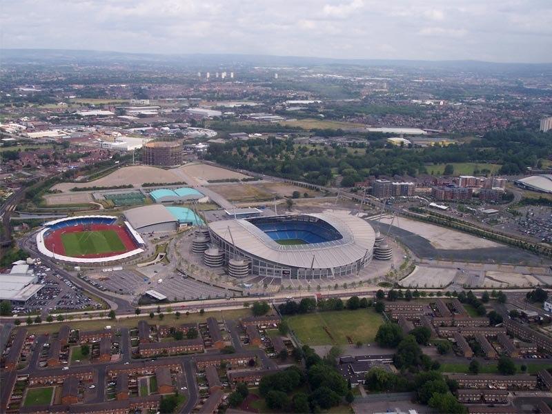 Стадион Этихад (Etihad Stadium). Манчестер, Англия.