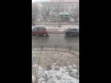 Снегопад в Салехарде 8 июня