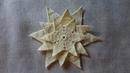 Jak zrobić gwiazdki szydełkiem - Wzór 12 podkładka/kwiat gwiazda betlejemska
