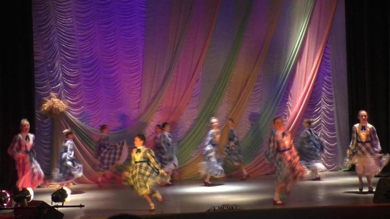 14 Американский танец Кантри средняя группа